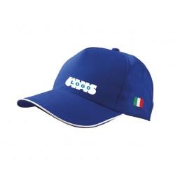 Cappellino con ricamo