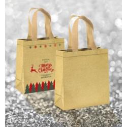 Shopper Glitter con manici corti