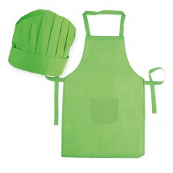 Set Grembiule e cappello da chef