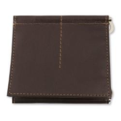 Portafoglio e carte credito  in pelle con clip