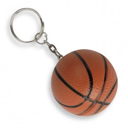 Portachiavi antistress pallone basket