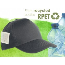 Cappellino in RPET 5 pannelli